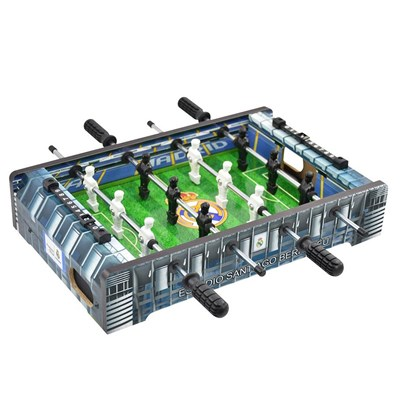 PROYECTUM SPORT TEAM, S.L Real Madrid Table Football Game - 34 x 22 x 7cm