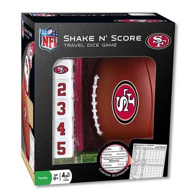 San Francisco 49ers Shake n Scores