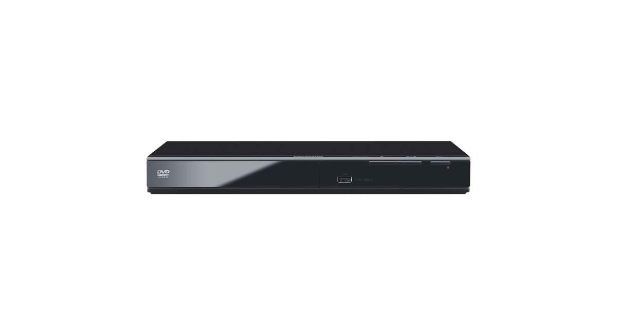 Panasonic DVD-S500EB-K DVD Player - Black