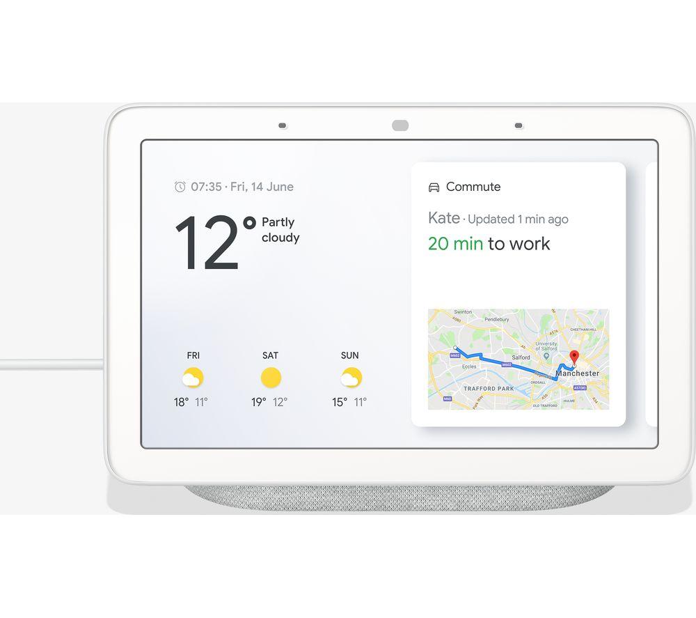 Google Home Hub Hands-Free Smart Speaker with 7 Screen