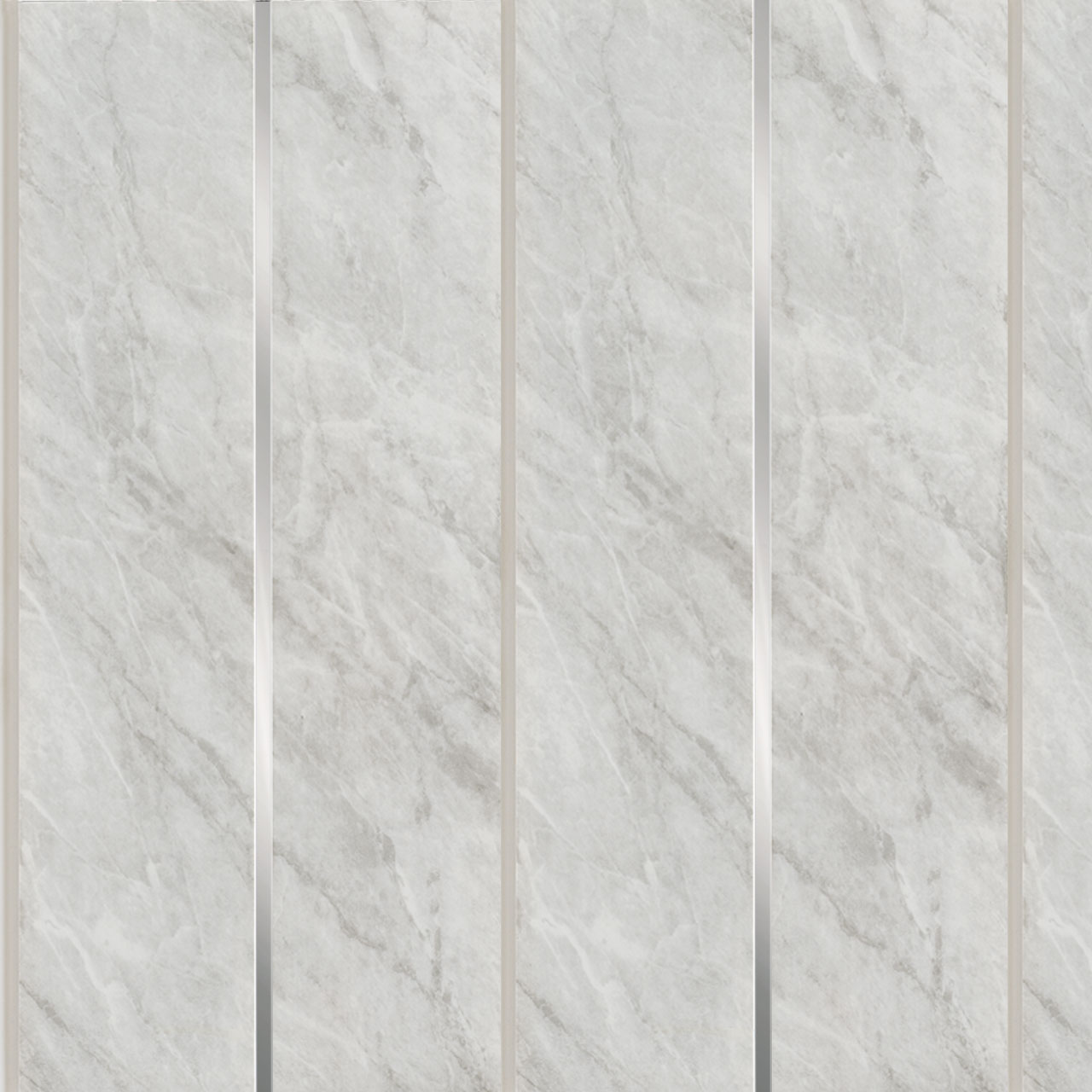 Wholesale Domestic Grey Marble Silver Strip Wall & Ceiling Panels 200x2700x6mm 5 Pack