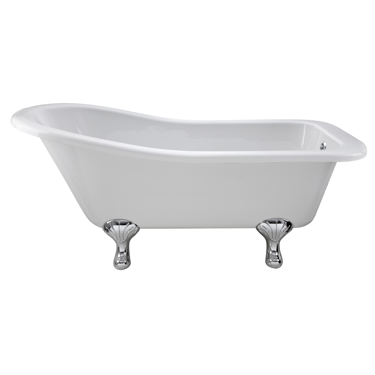 Nuie Brockley 1700mm Single Ended Freestanding Bath with Corbel Legs - RL1690T