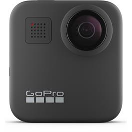 GoPro MAX Action Camcorder, 360° Recording, 5.6K Resolution, 30 FPS, 16.6MP, Wi-Fi, Waterproof, GPS