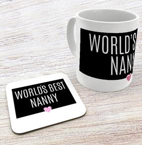 Nanny - Mug & Coaster Set