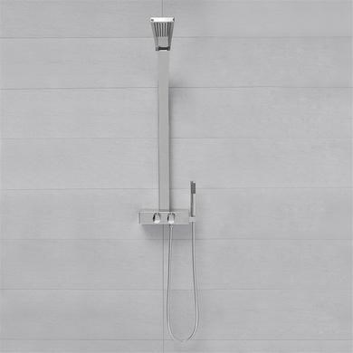 Chrome Luxury Thermostatic Shower Tower Panel with Shower Handset