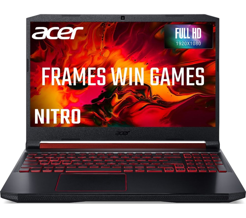 "ACER Nitro 5 15.6"" Gaming Laptop - AMD Ryzen 5, GTX 1650, 256 GB SSD"