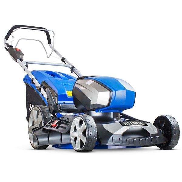HYUNDAI HYM80LI460SP Cordless Rotary Lawn Mower - Blue, Blue