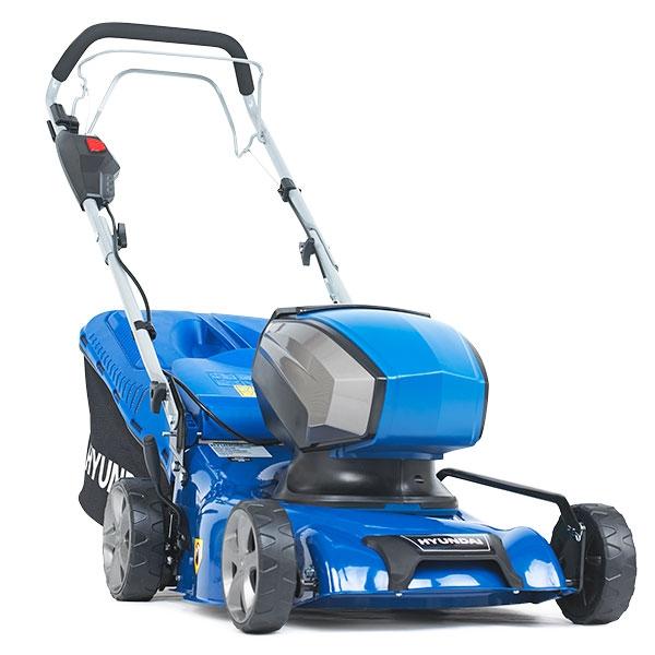 HYUNDAI HYM40LI420SP Cordless Rotary Lawn Mower - Blue, Blue