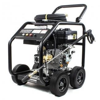 Hyundai HYW4000DE 498cc Diesel Pressure Washer 4000psi