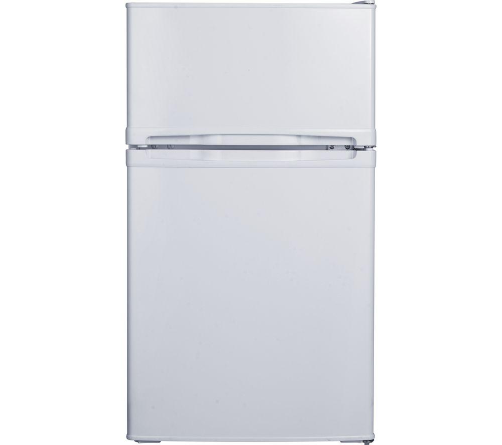 ESSENTIALS CUC50W20 Undercounter Fridge Freezer - White, White