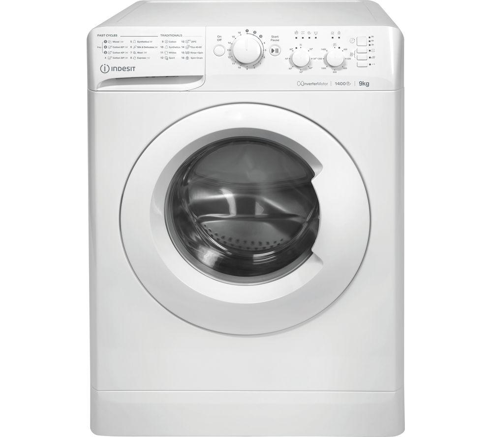 INDESIT MTWC 91483 W UK 9 kg 1400 Spin Washing Machine - White, White