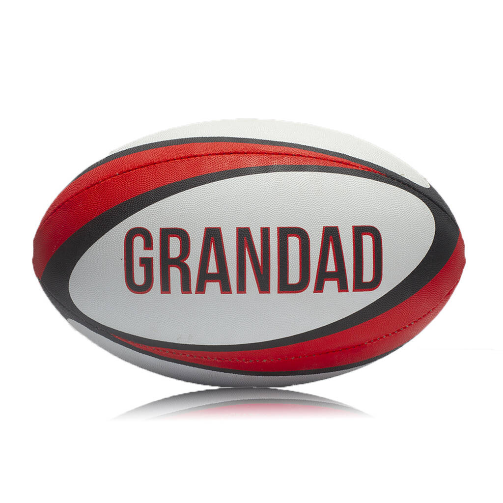 Grandad's Rugby Ball