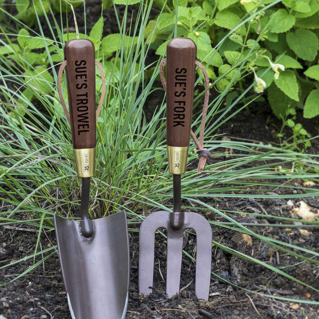 Personalised Deluxe Garden Tool Set