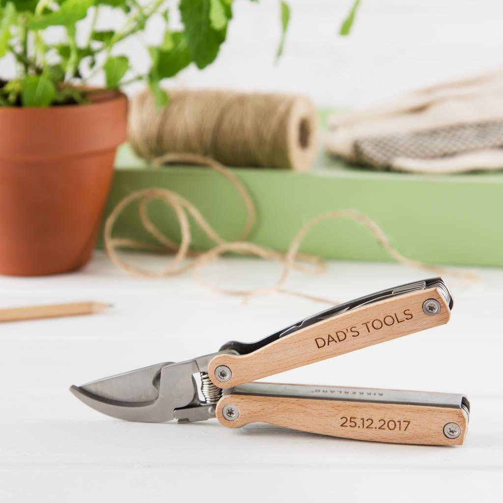 Personalised Gardening Pruner Multi Tool