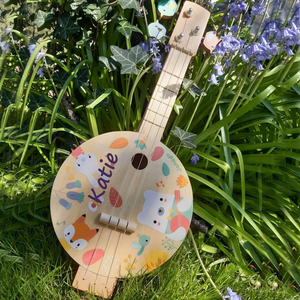 Personalised Toy Banjo