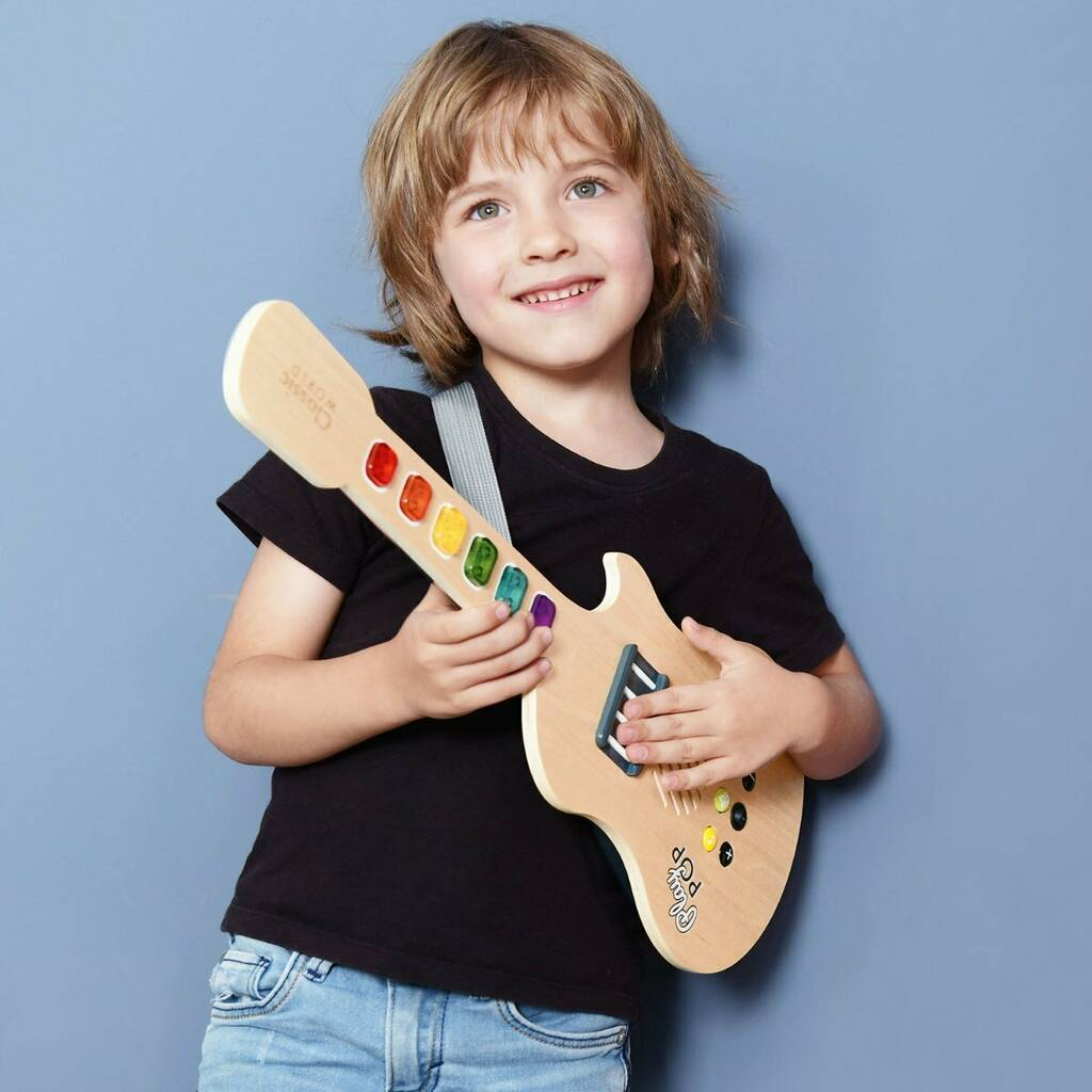 Wooden Toy Guitar 3yrs+