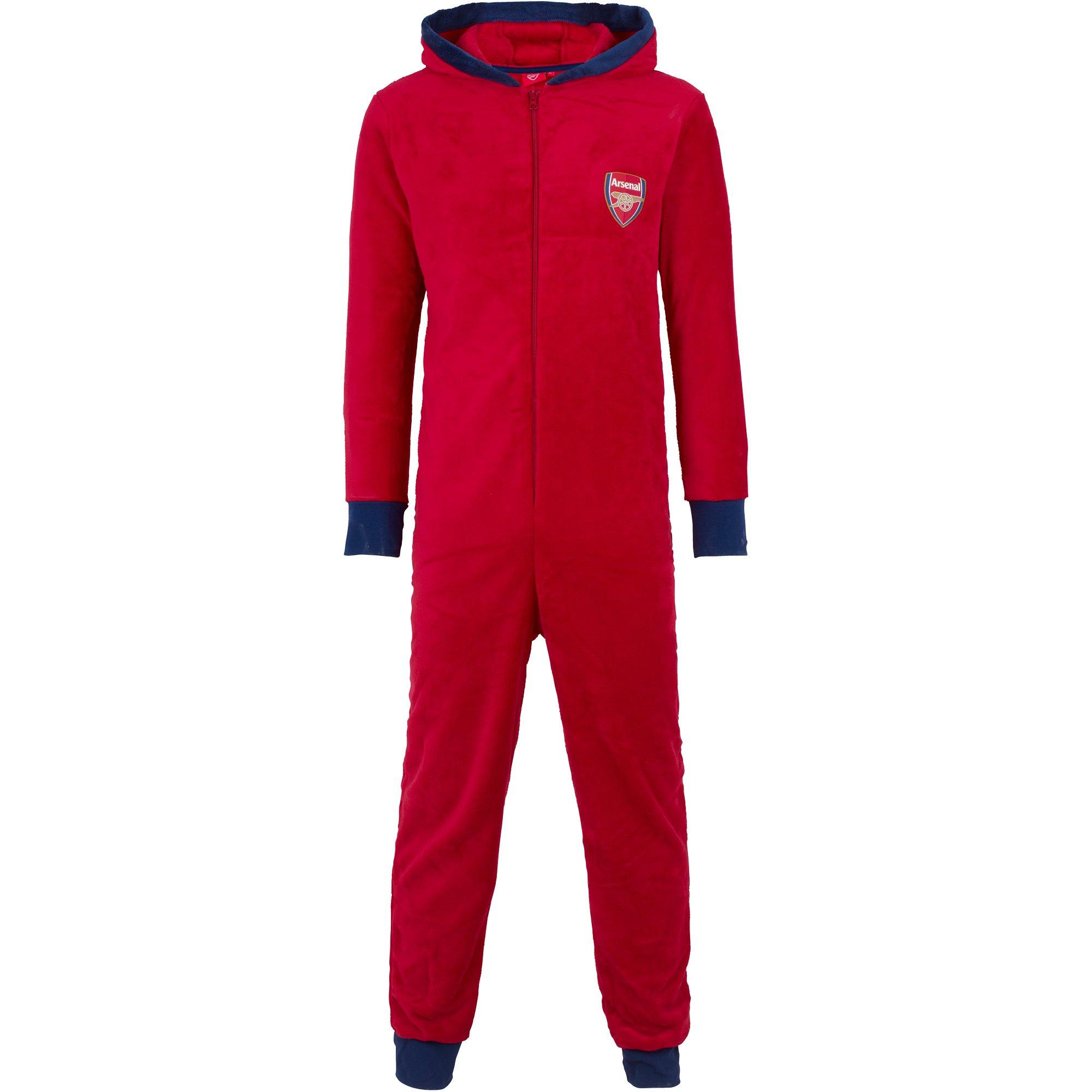 Arsenal Fleece All-In-One Red Pyjama XS-S, Red