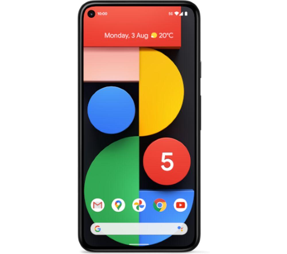 Google Pixel 5 5G Smartphone, Android, 8GB RAM, 5.96, 5G, SIM Free, 128GB