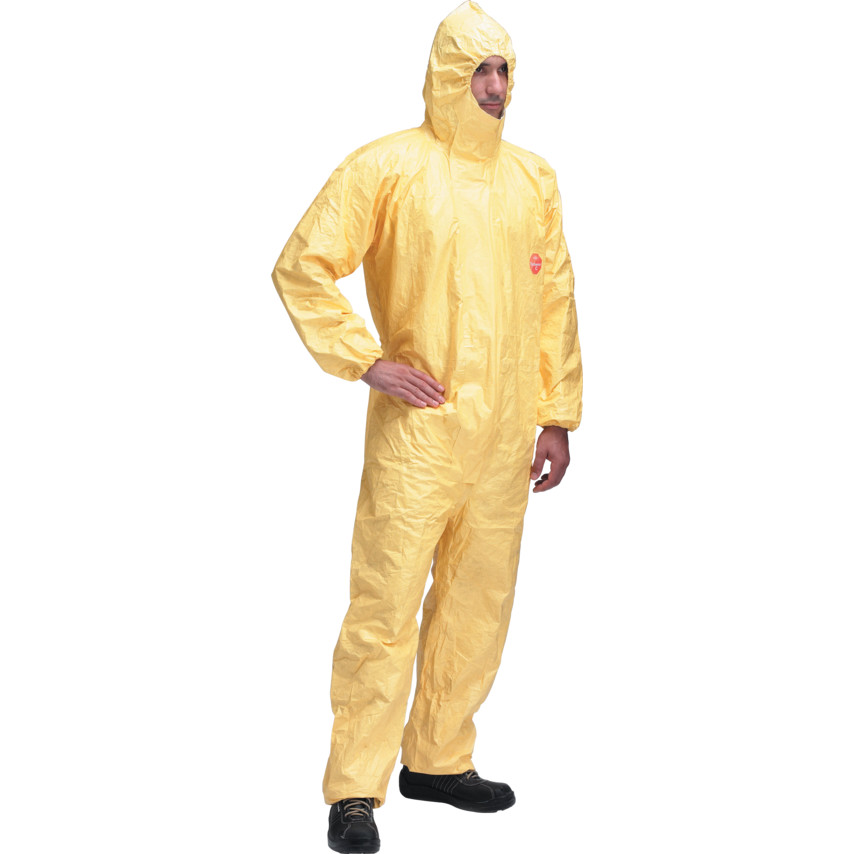 Dupont Tychem C Hooded Coverall - Small