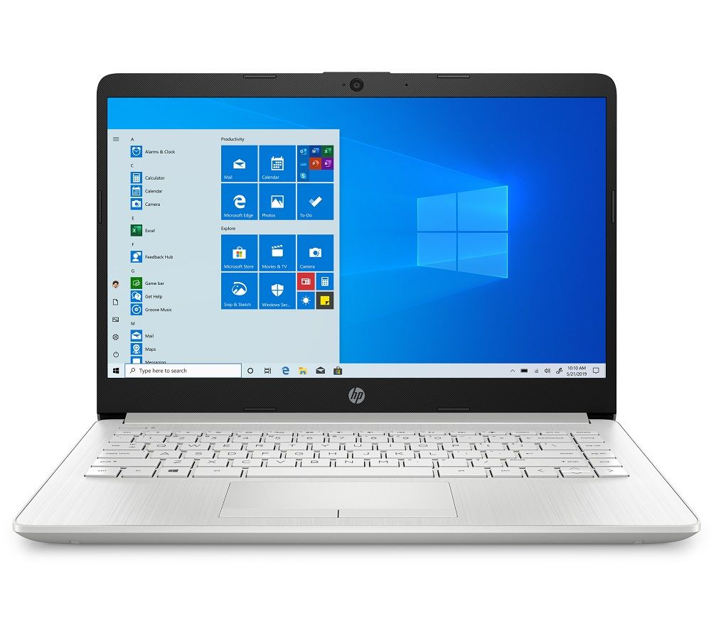 "HP 14-cf2504sa 14"" Laptop - Intel®Core? i5, 256 GB SSD, Silver, Silver"