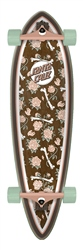 "Santa Cruz Floral Decay Pintail 33"" Skateboard 