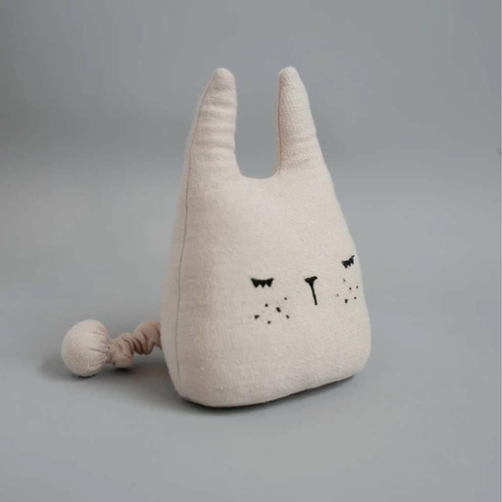 Organic Bunny Rabbit Music Mobile Toy