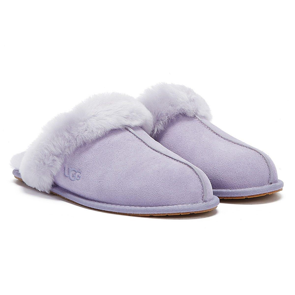 UGG Scuffette II Womens Light Purple Slippers UK 3