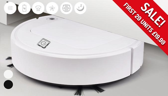Smart Robot Vacuum Cleaner - 2 Colours