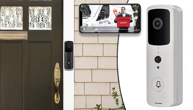 Smart Home Wireless Video Doorbell - 2 Colours