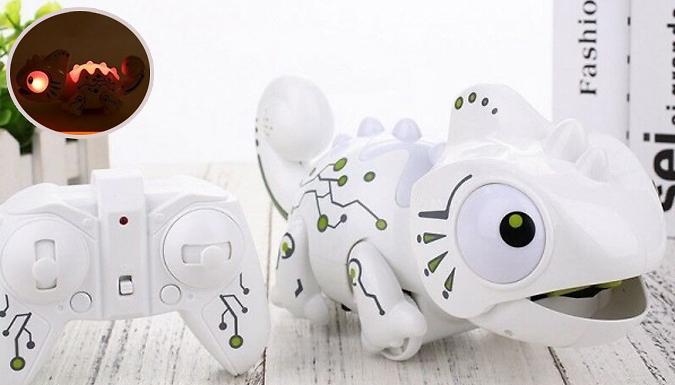 Smart LED Remote Control Chameleon Robot