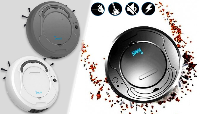 Rechargeable Smart Robotic Cleaning Device - 3 Colours
