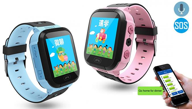 Kids' Smart Watch & GPS Tracker - 2 Colours