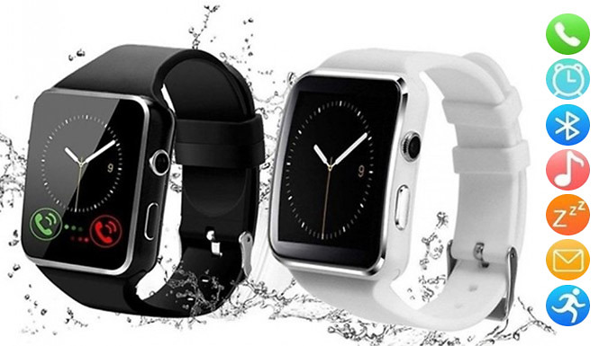 X6 Smart Screen Wrist Watch - 2 Colours
