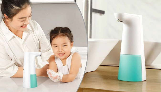 Smart Touchless Automatic 250ml Soap Dispenser