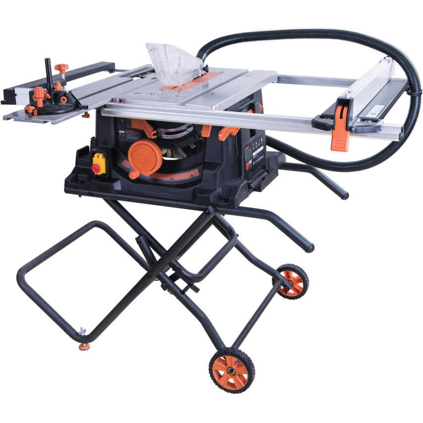 Evolution RAGE5-S 255mm TCT Multipurpose Table Saw 1600 Watt 110 Volt