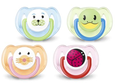 Philips AVENT Animal Soother 6m+ - Twin Pack
