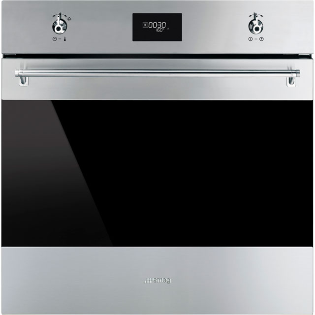 Smeg Classic SF6372X Integrated Single Oven in Stainless Steel