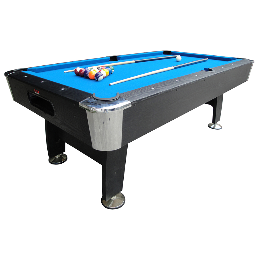 BCE 7ft Deluxe Black Cat Pool Table HPT17